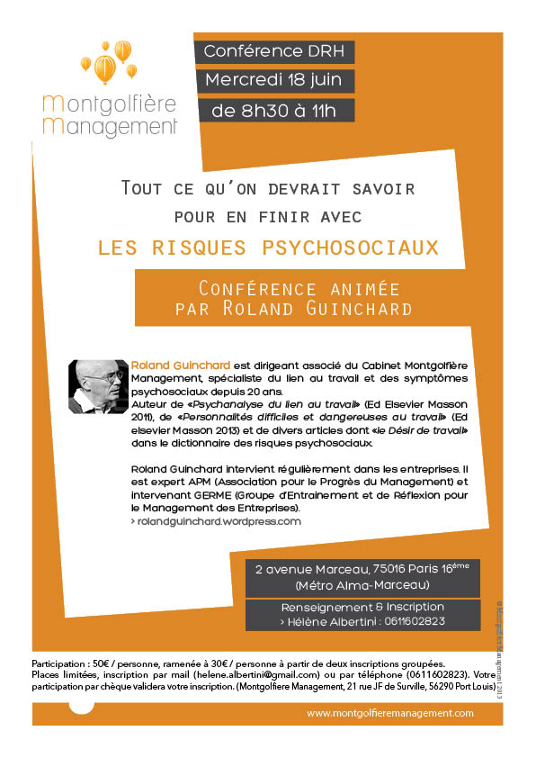 Conf MM Paris au 4 juin